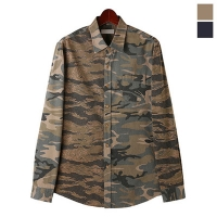 Double Camo Cotton Shirts