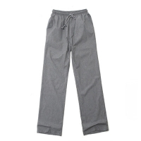 #AP1564 paul gingham pants (Grey)