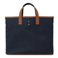 [���Ų] Hebeth tote & cross Bag (Navy)
