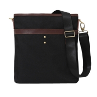 [���Ų] Heroni cross bag (Black)