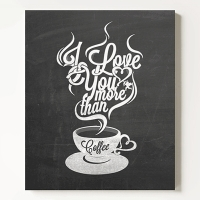ĵ���� Ÿ���� ���� I love you more than coffee Ŀ��