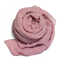 touch solid scarf pink