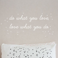 do what you love ���ڽ�ƼĿ