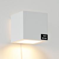 [바이빔][LED] 케어 벽걸이 스탠드-블랙&화이트