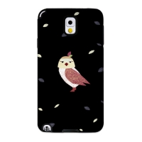 Cute Owl Black for Toughcase(Galaxy Note3)