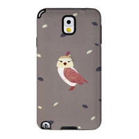 Cute Owl Brown for Toughcase(Galaxy Note3)