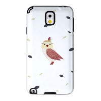 Cute Owl White for Toughcase(Galaxy Note3)