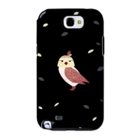 Cute Owl Black for Toughcase(Galaxy Note2)