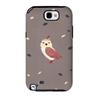 Cute Owl Brown for Toughcase(Galaxy Note2)