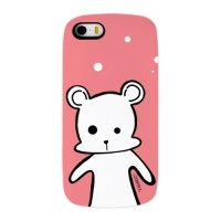 Snow Bear Pink for Slimpackcase(iPhone 5/5S)