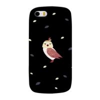 Cute Owl Black for Slimpackcase(iPhone 5/5S)