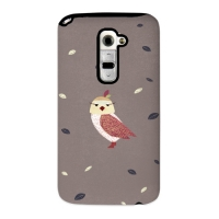 Cute Owl Brown for Toughcase(Optimus G2)