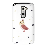 Cute Owl White for Toughcase(Optimus G2)