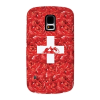 Switzerland Flag for Slimpackcase(Galaxy S5)