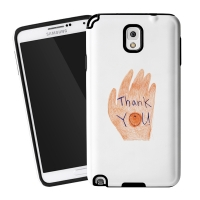 Thank you for galaxy Note3 Tough Case [Myung Jin]