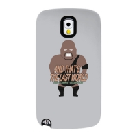 Wrestler02 for Slimpackcase(Galaxy Note3)