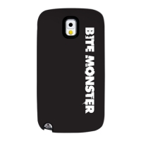 Bite Monster 01 for Slimpackcase(Galaxy Note3)
