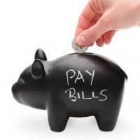 [원더스토어] 럭키스 블랙보드 돼지 저금통 Capitalist Pig