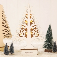 [SPICE] WOOD TREE & LED LIGHT - WHITE