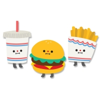 [On graphic] BUGER FRIEND
