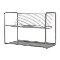 ORDNING Dish drainer, stainless steel 001.795.35 건조대
