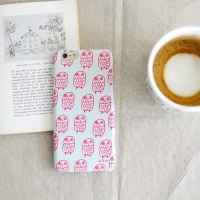 [duboo] Owl Pink iPhone 6 Case
