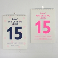 Month on the wall 2015 ����