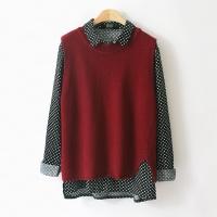 Wool Knit VEST (4-color)