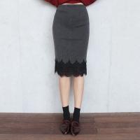 Lace KNIT SKIRT (2-color)