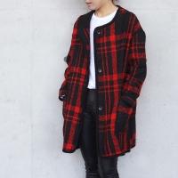 Tweed Check Coat (2-color)