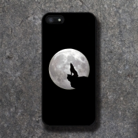 DPARKS SILHOUETTE WOLF BLACK CASE