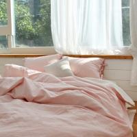 �������� ��ũ������ ����ħ��(pink beige)