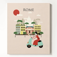 ĵ���� ������ �Ϸ���Ʈ ���� Woman in Rome
