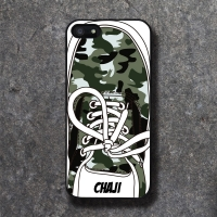 'CHAJI' REAL SHOE (CAMOU) BLACK CASE