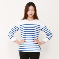 roll-up stripe T-Shirts / JSTS401-FBL