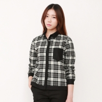 check combination SHIRTS / WVSH401-FGY