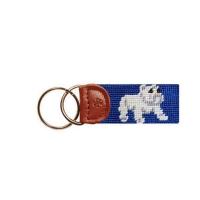 Key Fob Dogs - Standing Bulldog