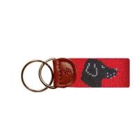 Key Fob Dogs - Black Lab Head
