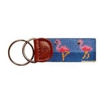 Key Fob Animal - Flamingo