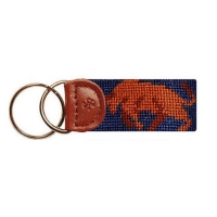 Key Fob Animal - Bull and bear