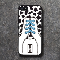 REAL SHOE COW SKY BLACK CASE
