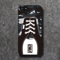 REAL SHOE CM GREY BLACK CASE