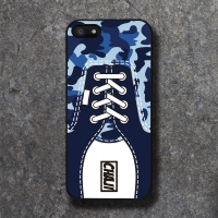 REAL SHOE CM BLUE BLACK CASE
