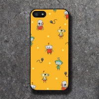 'CHAJI' ROBOY YELLOW BLACK CASE