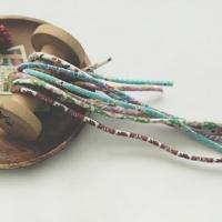 ��Ȩ ��Ʈ�� VEVENE Vintage Feedsack Flower String 10types
