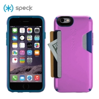 [SPECK] 스펙 아이폰6/6s 전용  충격방지 카드 케이스 캔디쉘 퍼플