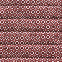VEVENE'S Feedsack Flower Linen Quilting - #9 Passion Red