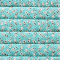 VEVENE'S Feedsack Flower Linen Quilting - #7 Mint Groom