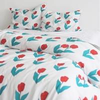 ���� ��Ƽ�� ƫ��- Big Tulip Claude Oscar Design Pattern Cotton