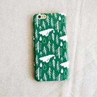 [duboo] Norwegian Wood Olive iPhone6+ HardCase